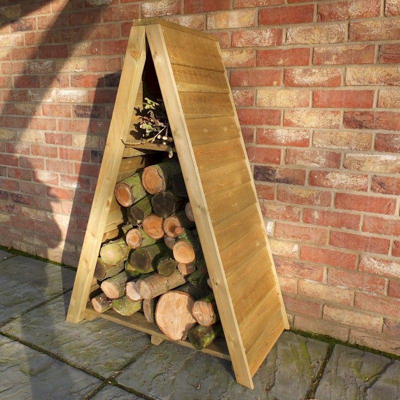 Shire Small Triangular Sawn Log Store