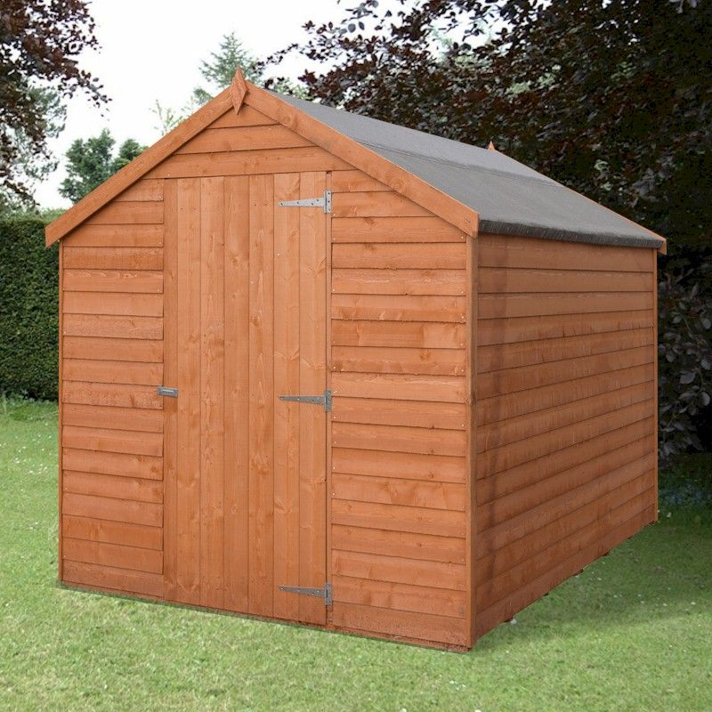 Shire Value Overlap Apex Shed 7x5