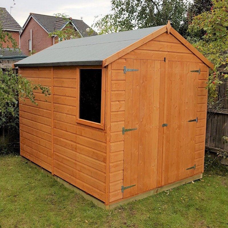 Shire Warwick Double Door Shed 8x6