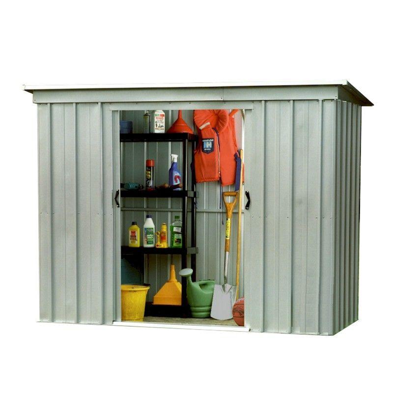 Yardmaster Store-All 64PZ Pent Metal Shed 6x4