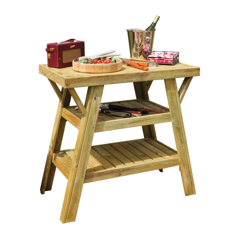 Zest BBQ Side Table