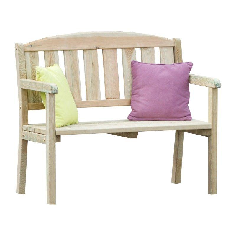 Zest Caroline 2 Seater Bench