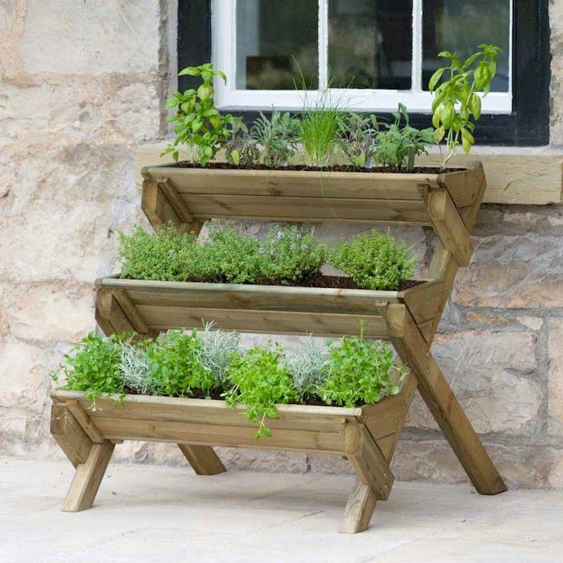 Zest Stepped Herb Planter