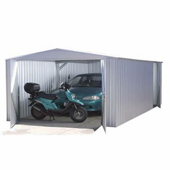 Absco Utility Workshop Garage Titanium 6.0 x 3.0m image