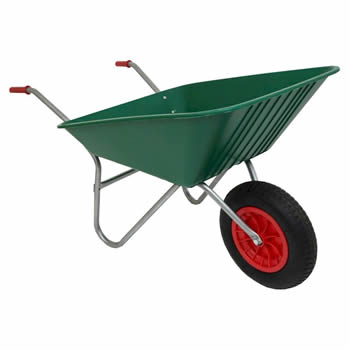 Bullbarrow Matador Green Wheelbarrow image