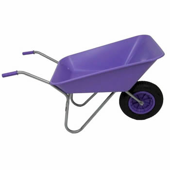 Bullbarrow Matador Lilac Wheelbarrow image