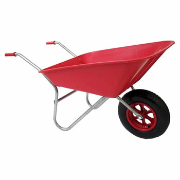 Bullbarrow Matador Red Wheelbarrow image