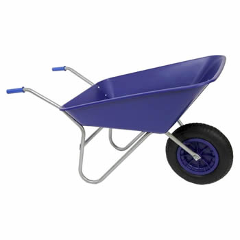 Bullbarrow Picador Blue Wheelbarrow image