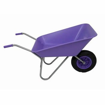 Bullbarrow Picador Lilac Wheelbarrow image