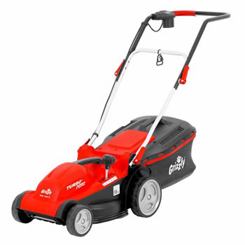 Grizzly 1400W Electric Mower 35cm Cut image