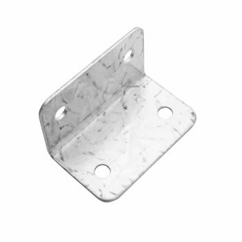 Metpost L-Shaped Panel Fixing Clip 50mm image