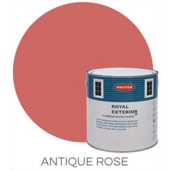 Protek Royal Exterior Wood Stain - Antique Rose 5 Litre