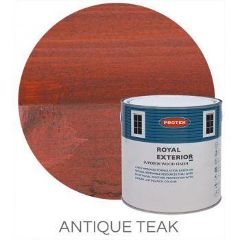 Protek Royal Exterior Wood Stain - Antique Teak 5 Litre