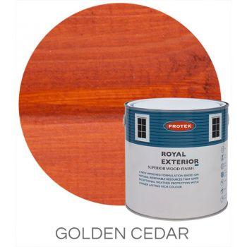 Protek Royal Exterior Wood Stain - Golden Cedar 5 Litre