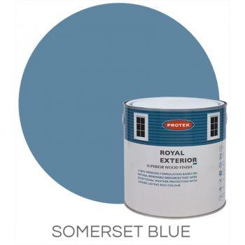 Protek Royal Exterior Wood Stain - Somerset Blue 5 Litre