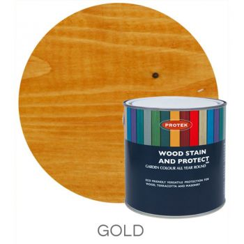 Protek Wood Stain & Protector - Gold 1 Litre image