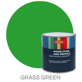 Protek Wood Stain & Protector - Grass Green 1 Litre image