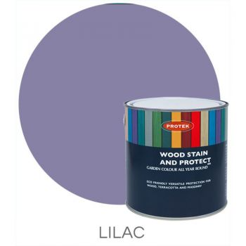 Protek Wood Stain & Protector - Lilac 1 Litre image