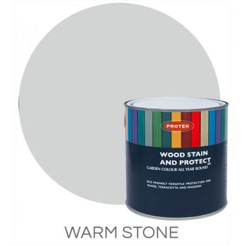 Protek Wood Stain & Protector - Warm Stone 1 Litre image