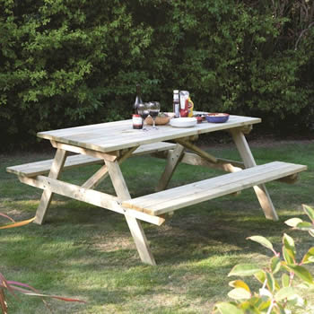 Rowlinson 4ft Picnic Bench image