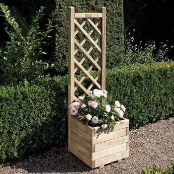 Rowlinson Square Planter & Lattice image