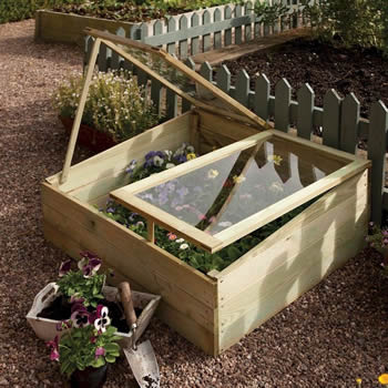 Rowlinson Timber Cold Frame image