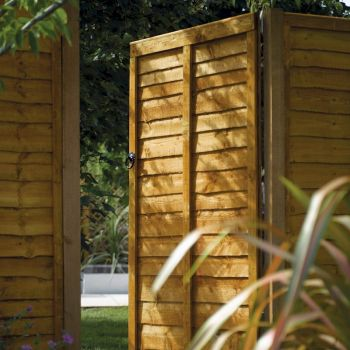 Rowlinson Traditional Lap Gate Pressure Treated 6ft x 3ft image