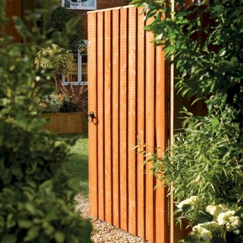 Rowlinson Vertical Board Gate Dip Treated 6ft x 3ft image
