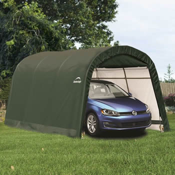 Shelterlogic Round Top Auto Shelter 10x15 image