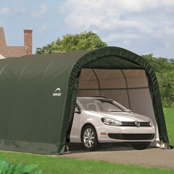 Shelterlogic Round Top Auto Shelter 12x20 image