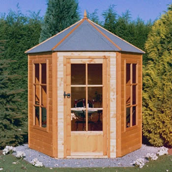 Shire Gazebo Summerhouse 6x6 image