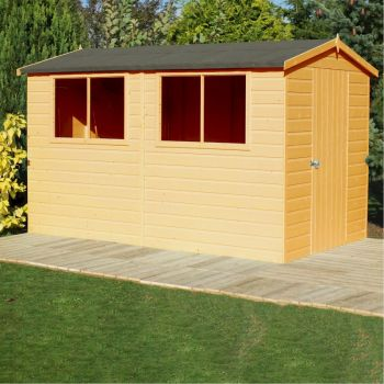 Shire Lewis Shed 12x8 image