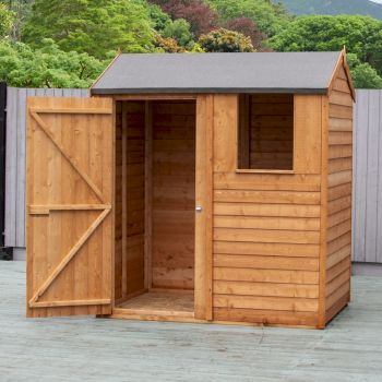 Shire Overlap Reverse Apex Shed 6x4