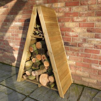 Shire Small Triangular Sawn Log Store image