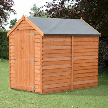Shire Value Overlap Apex Shed 6x4 image