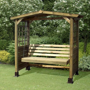 Store More Poseidon Swingseat Arbour image