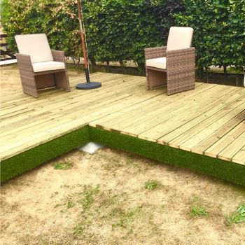 Swift Deck Complete Corner Decking Kit 4.75m x 4.7m image
