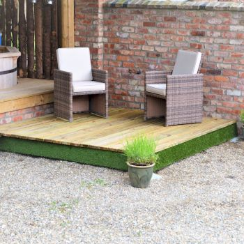 Swift Deck Complete Decking Kit 2.4m x 2.4m image