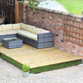 Swift Deck Complete Decking Kit 2.4m x 4.7m image