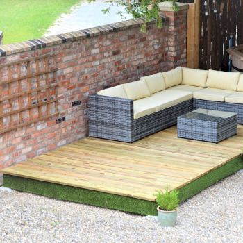 Swift Deck Complete Decking Kit 2.4m x 7.0m image