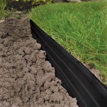 Swift Edge Garden Edging Black 6m Pack image
