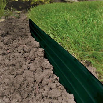 Beau Swift Edge Garden Edging Green 6m Pack Image