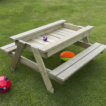 Zest Alice Childrens Picnic Play Table image