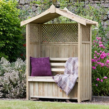 Zest Dorset Arbour with Storage Box image