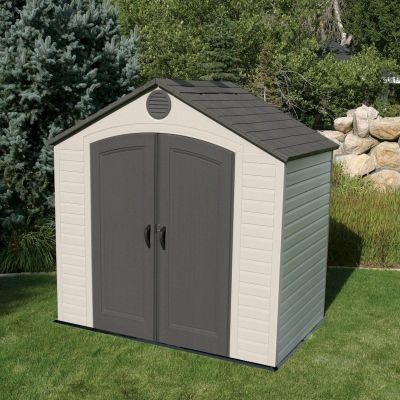 Lifetime Apex Plastic Shed 8x5