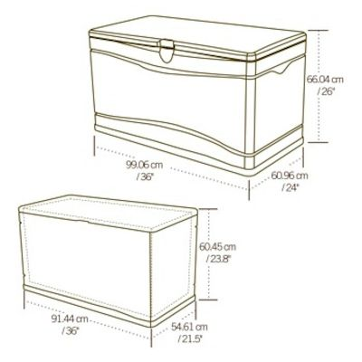 Lifetime Small Plastic Storage Box