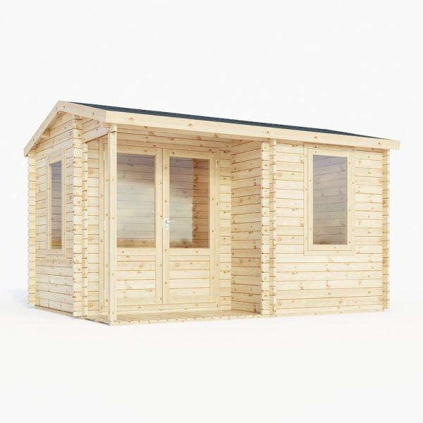 Mercia Home Office Executive 28mm Log Cabin 4.0 x 3.0m