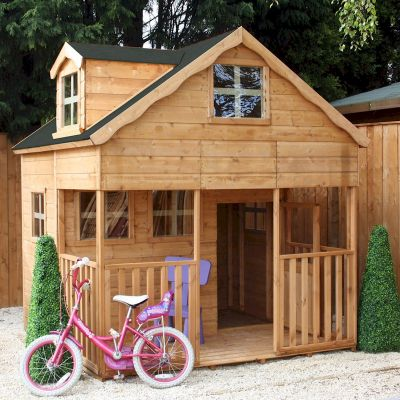 Mercia Dormer Double Storey Playhouse 7x7