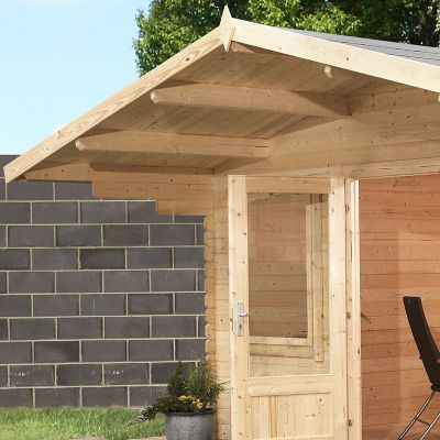 Mercia Haven 28mm Log Cabin 4.0 x 4.0m