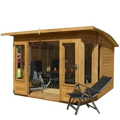 Mercia Helios Curved Roof Summerhouse 10x10